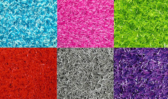 This is the fantastic range of EGS Colour Range Artificial Grass. This colourful and contemporary range of artificial grass is ideal for play areas or modern living, where it can be used as an outdoor carpet or rug.