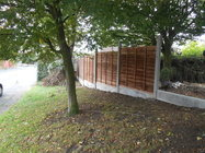 Closeboard fencing in Crewe, Cheshire by Evergreen Garden Services